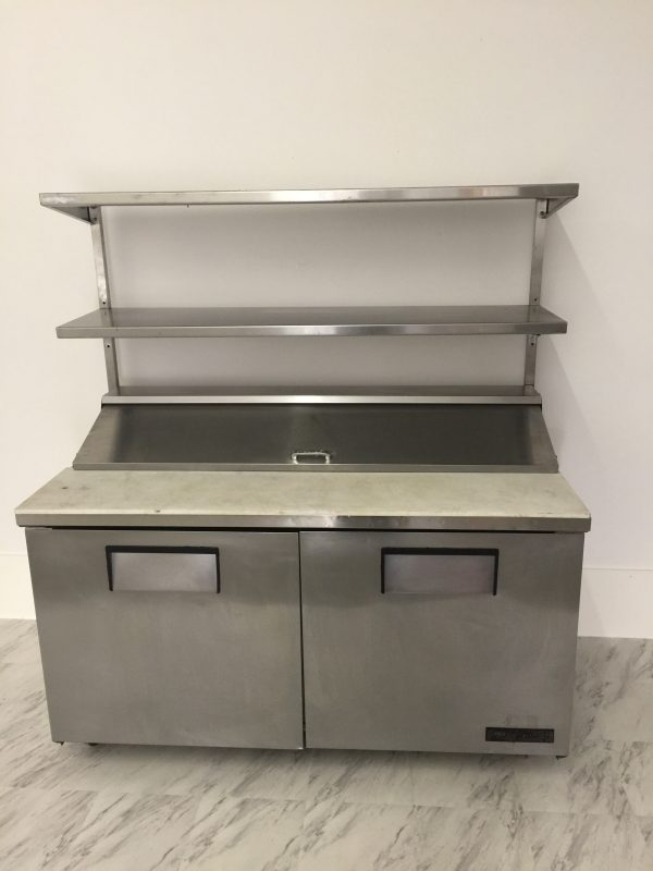 True Sandwich Prep TSSU Ross Company Equipment - True refrigerated prep table
